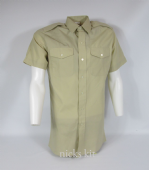 Issue Short Sleeve Shirt Fawn